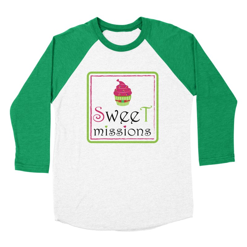 Sweet Missions Women's Baseball Triblend T-Shirt by 2Dyzain's Artist Shop