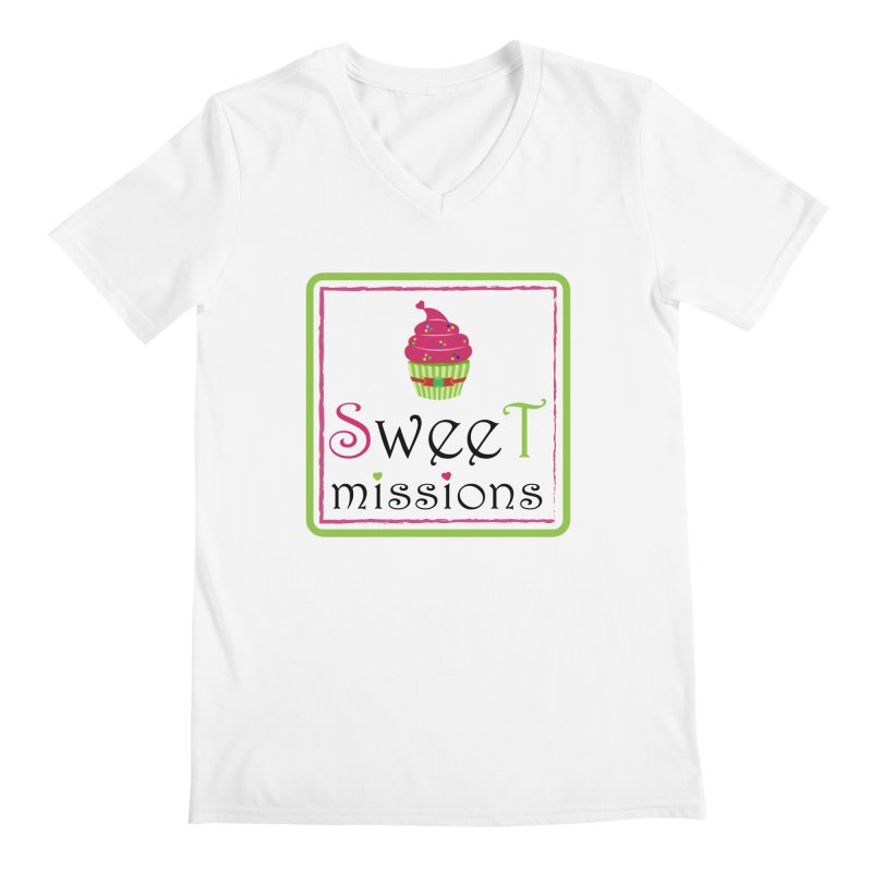 Sweet Missions Men's V-Neck by 2Dyzain's Artist Shop