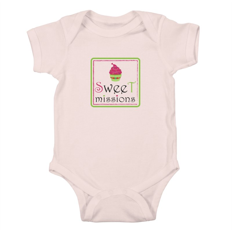 Sweet Missions Kids Baby Bodysuit by 2Dyzain's Artist Shop