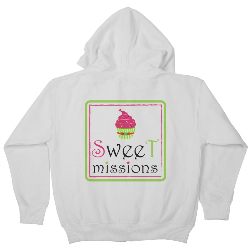 Sweet Missions Kids Zip-Up Hoody by 2Dyzain's Artist Shop