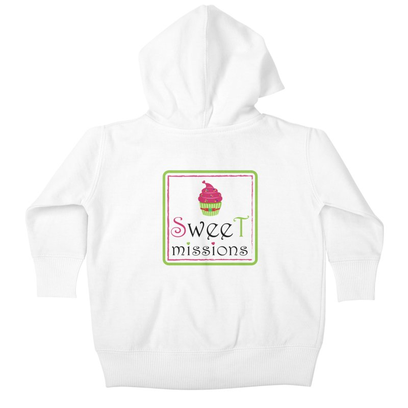 Sweet Missions Kids Baby Zip-Up Hoody by 2Dyzain's Artist Shop