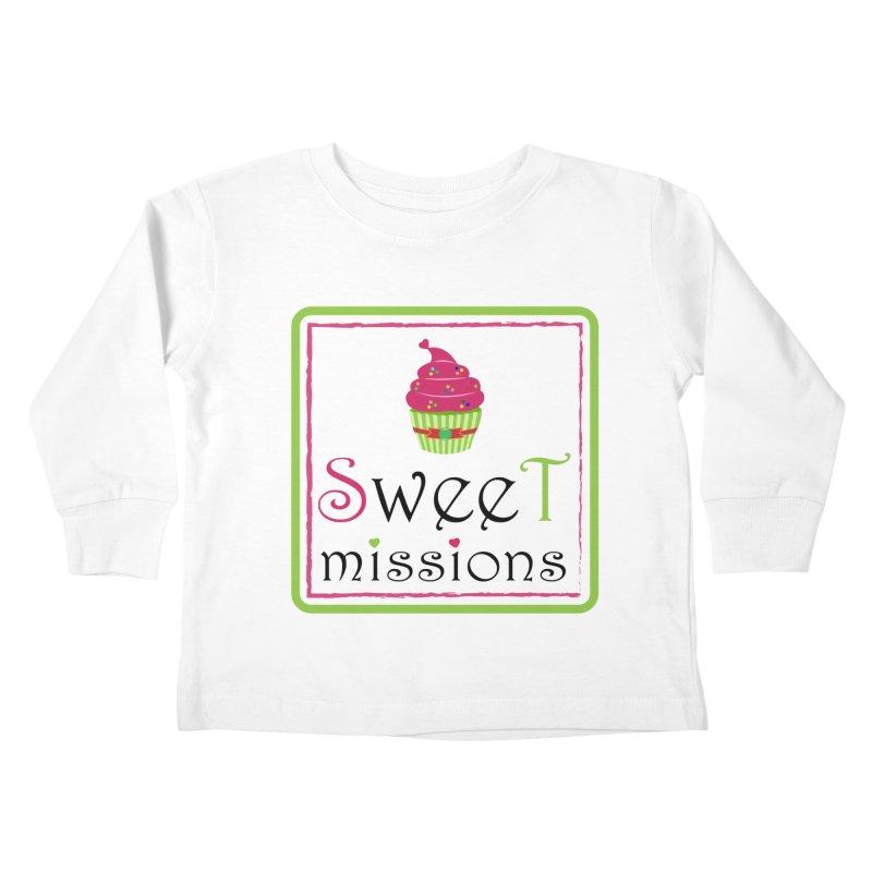 Sweet Missions Kids Toddler Longsleeve T-Shirt by 2Dyzain's Artist Shop