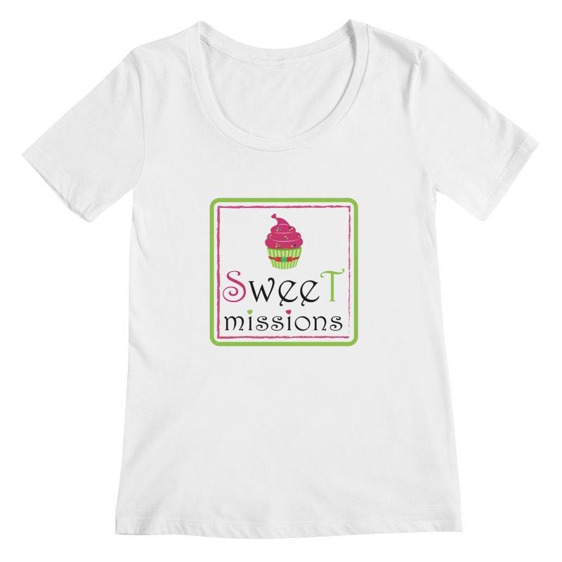 Sweet Missions Women's Scoopneck by 2Dyzain's Artist Shop