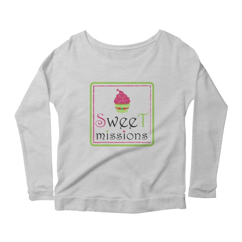 Sweet Missions Women's Longsleeve Scoopneck  by 2Dyzain's Artist Shop