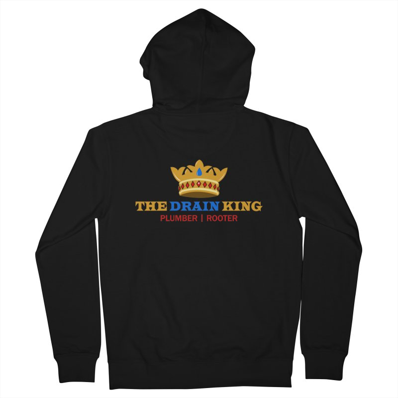 The Drain King Men's Zip-Up Hoody by 2Dyzain's Artist Shop