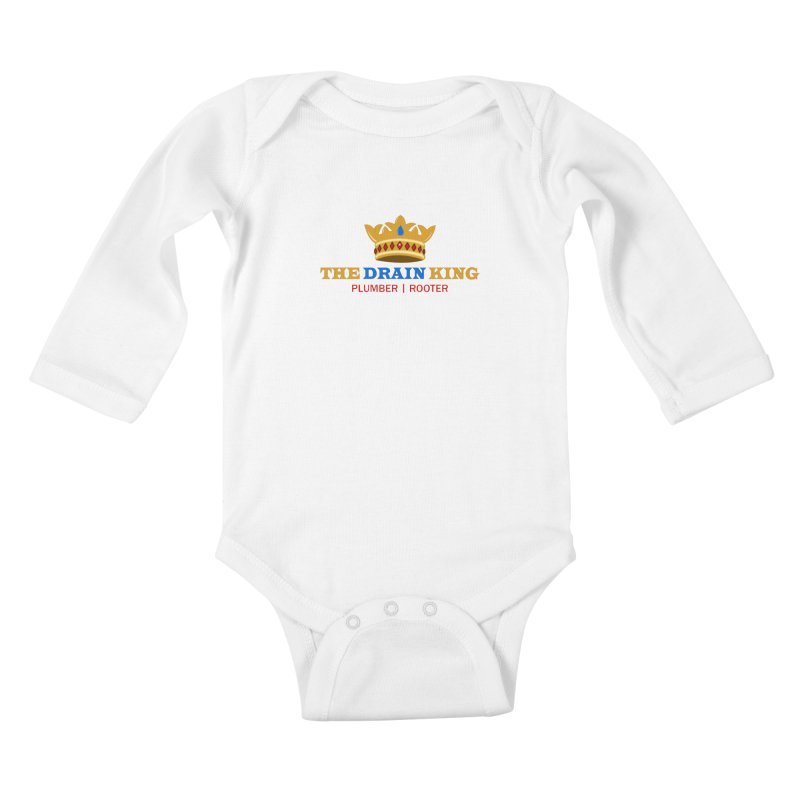 The Drain King Kids Baby Longsleeve Bodysuit by 2Dyzain's Artist Shop