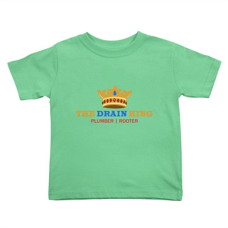 The Drain King Kids Toddler T-Shirt by 2Dyzain's Artist Shop