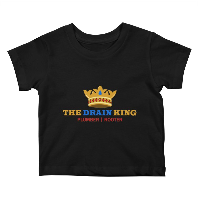 The Drain King Kids Baby T-Shirt by 2Dyzain's Artist Shop