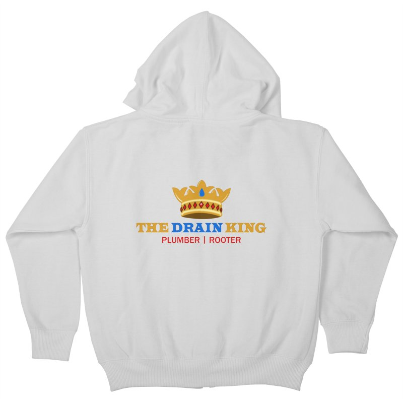The Drain King Kids Zip-Up Hoody by 2Dyzain's Artist Shop