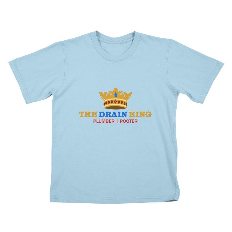 The Drain King Kids T-Shirt by 2Dyzain's Artist Shop