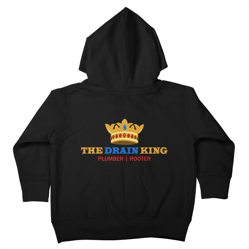 The Drain King Kids Toddler Zip-Up Hoody by 2Dyzain's Artist Shop