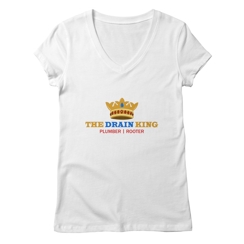 The Drain King Women's V-Neck by 2Dyzain's Artist Shop