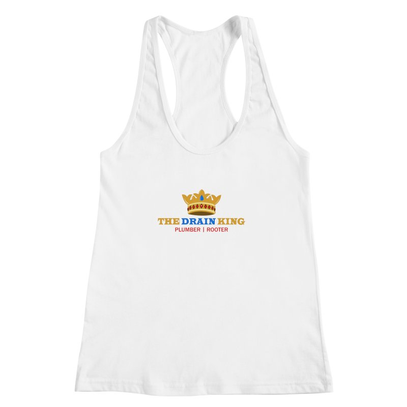 The Drain King Women's Racerback Tank by 2Dyzain's Artist Shop