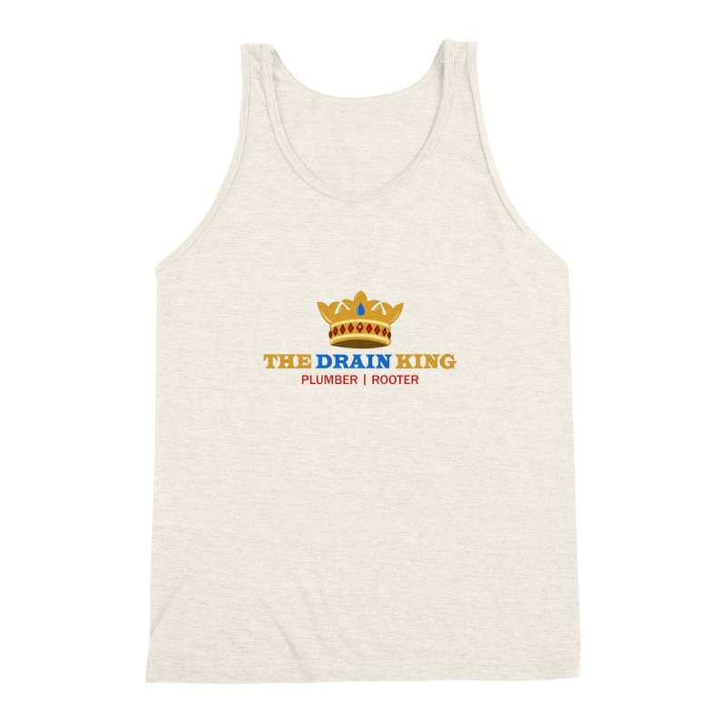The Drain King Men's Triblend Tank by 2Dyzain's Artist Shop