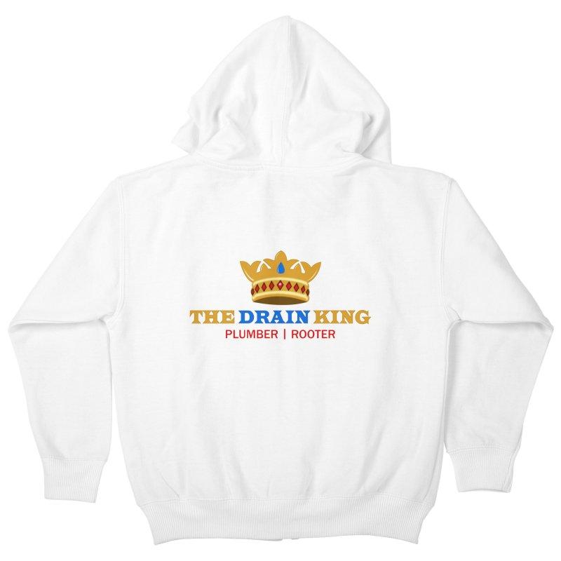 The Drain King Kids Zip-Up Hoody by 2Dyzain's Artist Shop