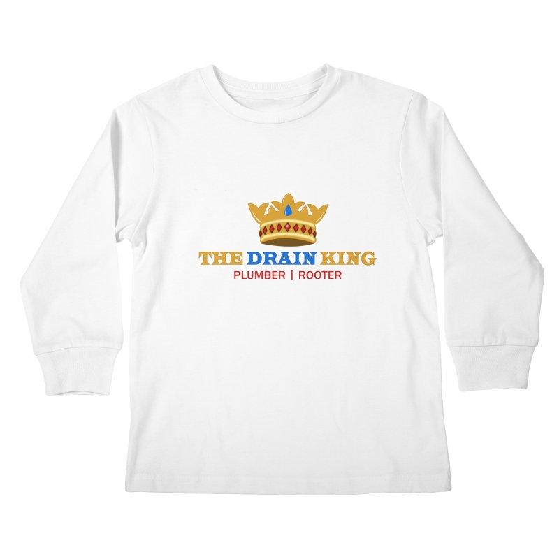The Drain King Kids Longsleeve T-Shirt by 2Dyzain's Artist Shop