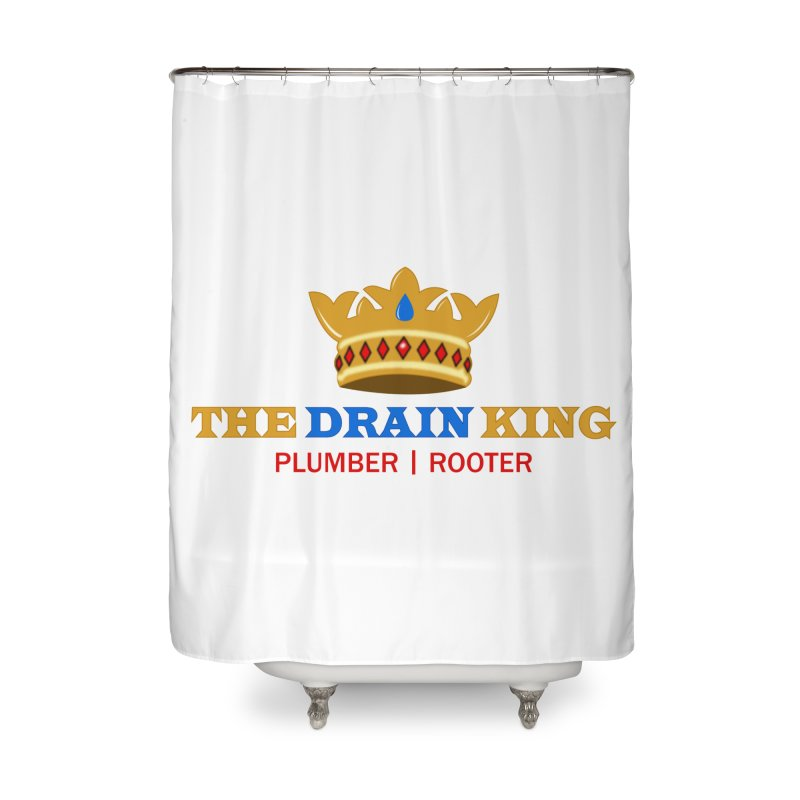 The Drain King Home Shower Curtain by 2Dyzain's Artist Shop