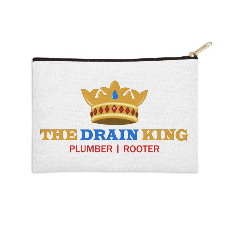The Drain King Accessories Zip Pouch by 2Dyzain's Artist Shop