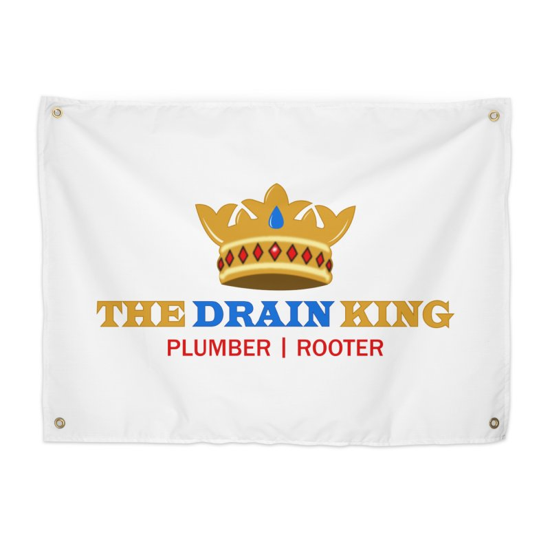 The Drain King Home Tapestry by 2Dyzain's Artist Shop