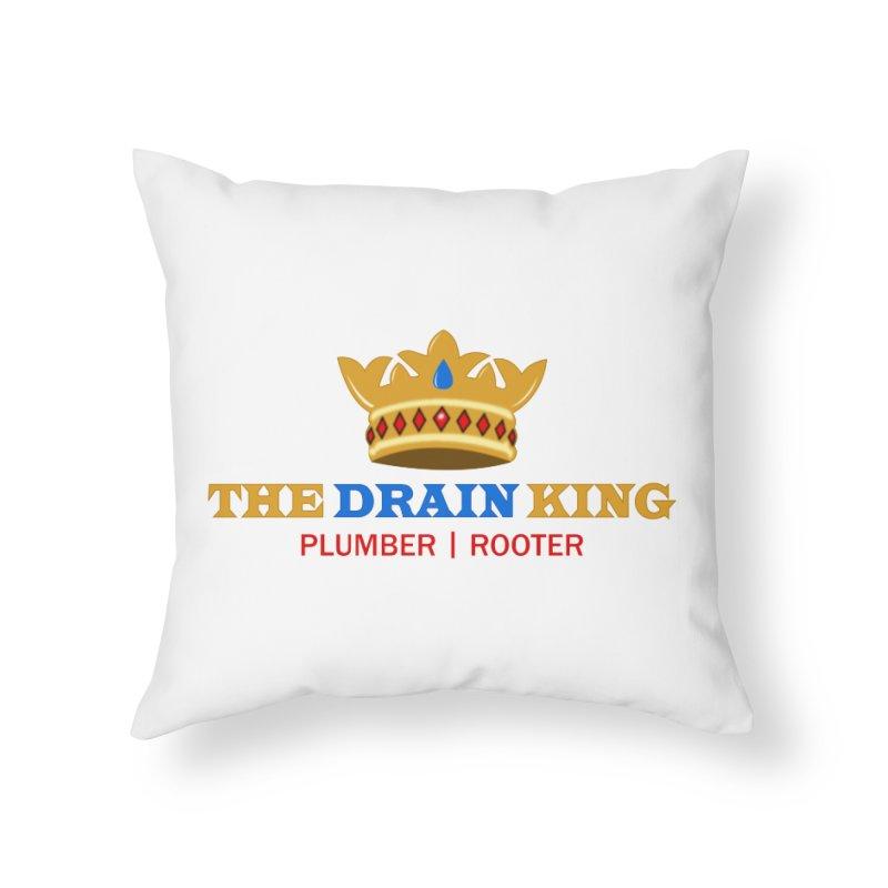 The Drain King Home Throw Pillow by 2Dyzain's Artist Shop