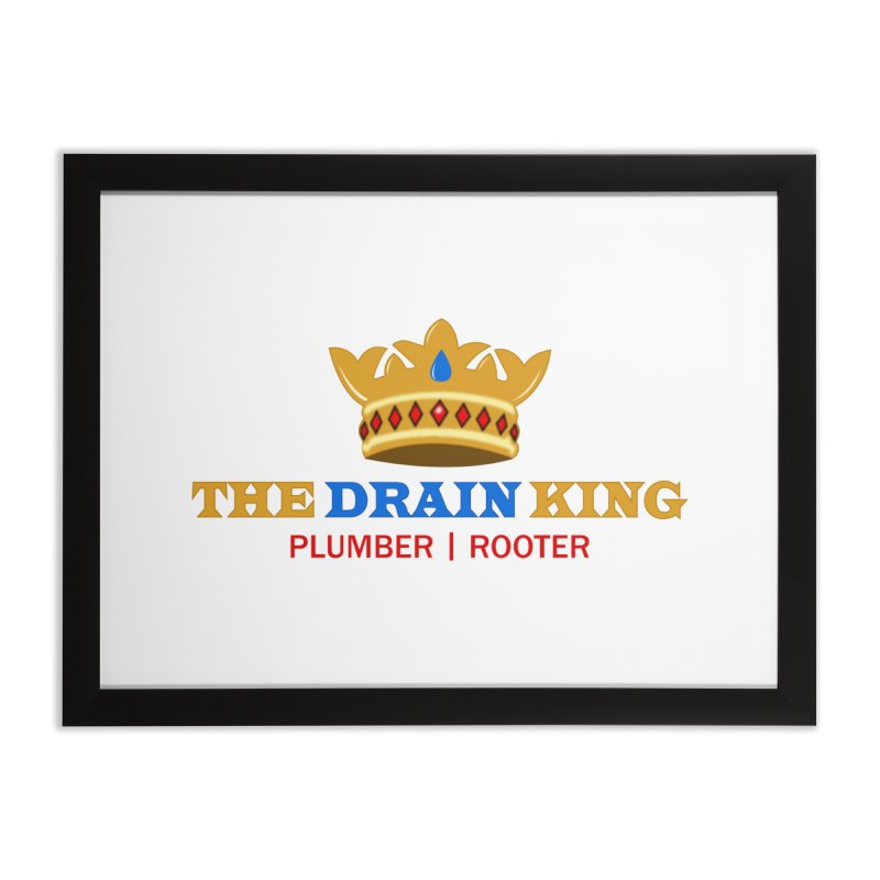The Drain King Home Framed Fine Art Print by 2Dyzain's Artist Shop