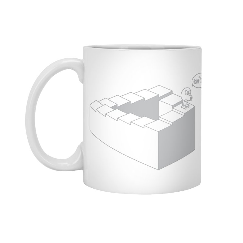 @!#?@! (Qbert) Accessories Standard Mug by 2pstart's Artist Shop