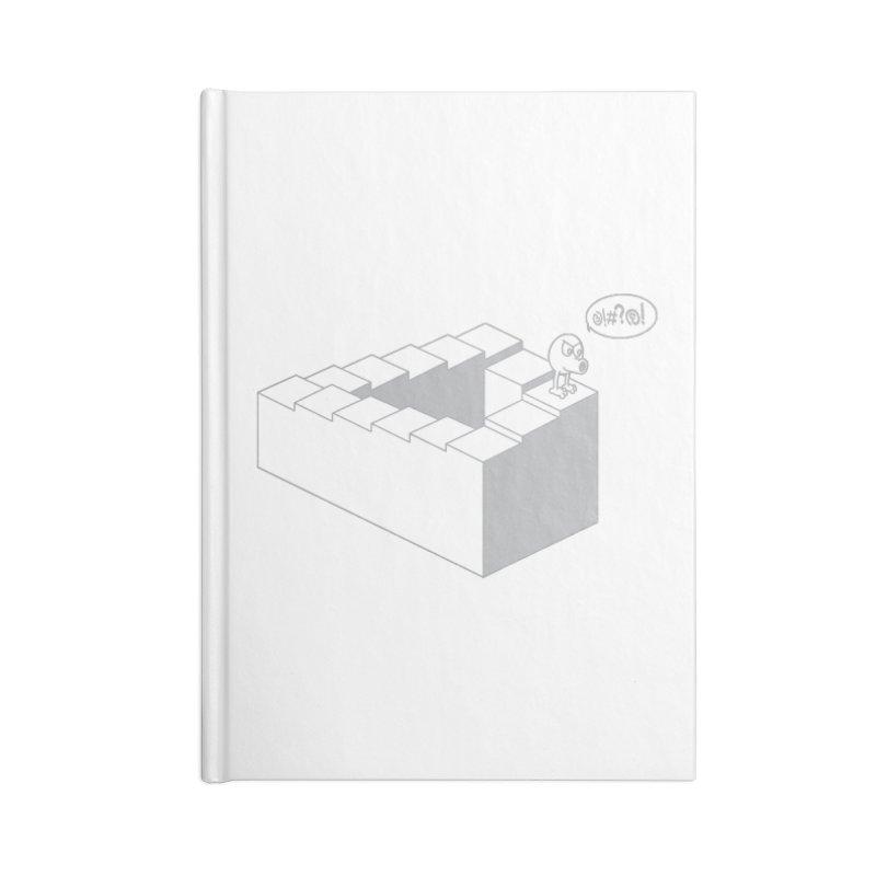 @!#?@! (Qbert) Accessories Lined Journal Notebook by 2pstart's Artist Shop