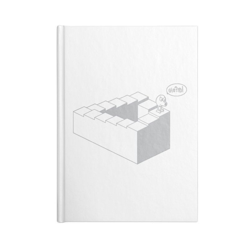 @!#?@! (Qbert) Accessories Blank Journal Notebook by 2pstart's Artist Shop