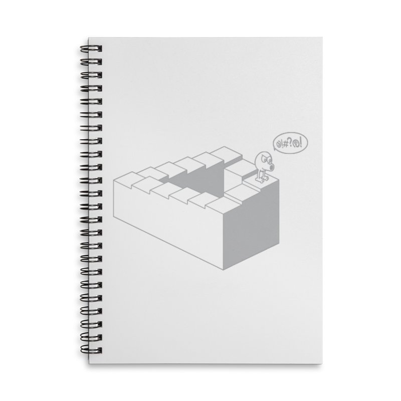 @!#?@! (Qbert) Accessories Lined Spiral Notebook by 2pstart's Artist Shop