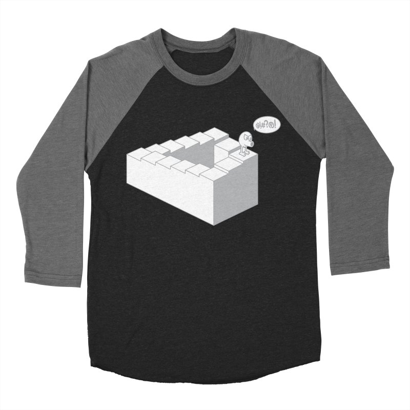@!#?@! (Qbert) Men's Baseball Triblend Longsleeve T-Shirt by 2pstart's Artist Shop