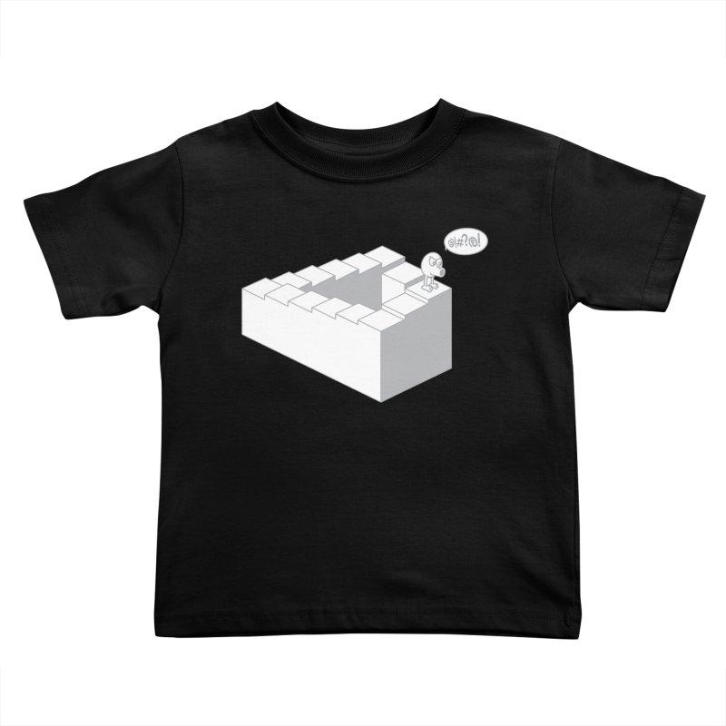@!#?@! (Qbert) Kids Toddler T-Shirt by 2pstart's Artist Shop