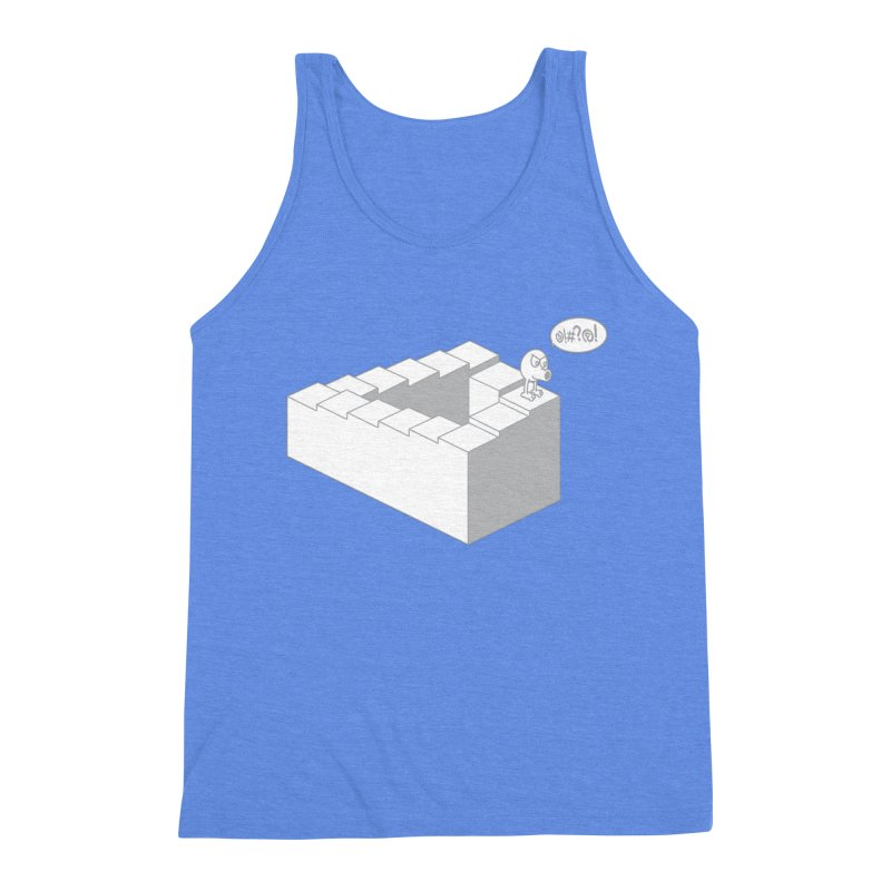 @!#?@! (Qbert) Men's Triblend Tank by 2pstart's Artist Shop