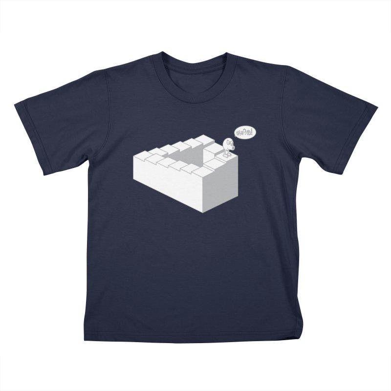 @!#?@! (Qbert) Kids T-Shirt by 2pstart's Artist Shop
