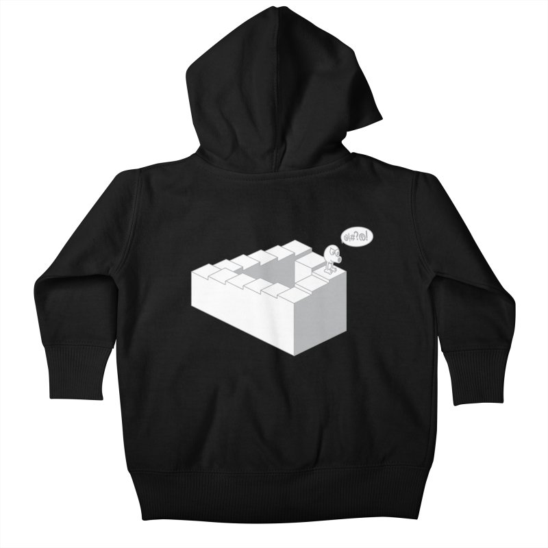 @!#?@! (Qbert) Kids Baby Zip-Up Hoody by 2pstart's Artist Shop