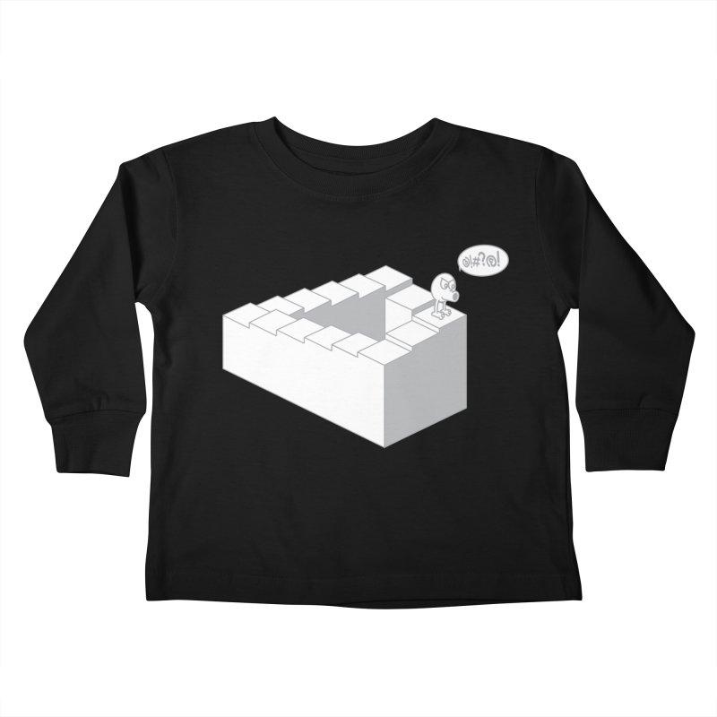 @!#?@! (Qbert) Kids Toddler Longsleeve T-Shirt by 2pstart's Artist Shop