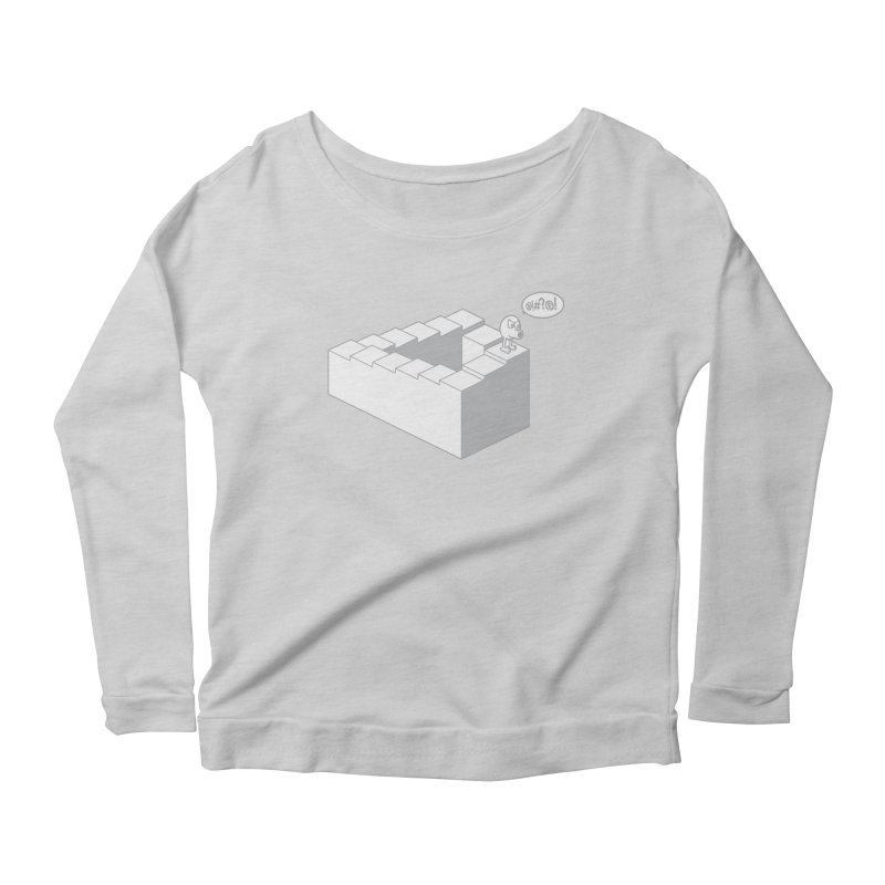 @!#?@! (Qbert) Women's Scoop Neck Longsleeve T-Shirt by 2pstart's Artist Shop
