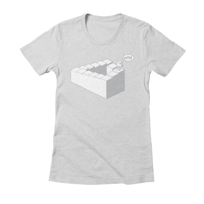 @!#?@! (Qbert) Women's Fitted T-Shirt by 2pstart's Artist Shop