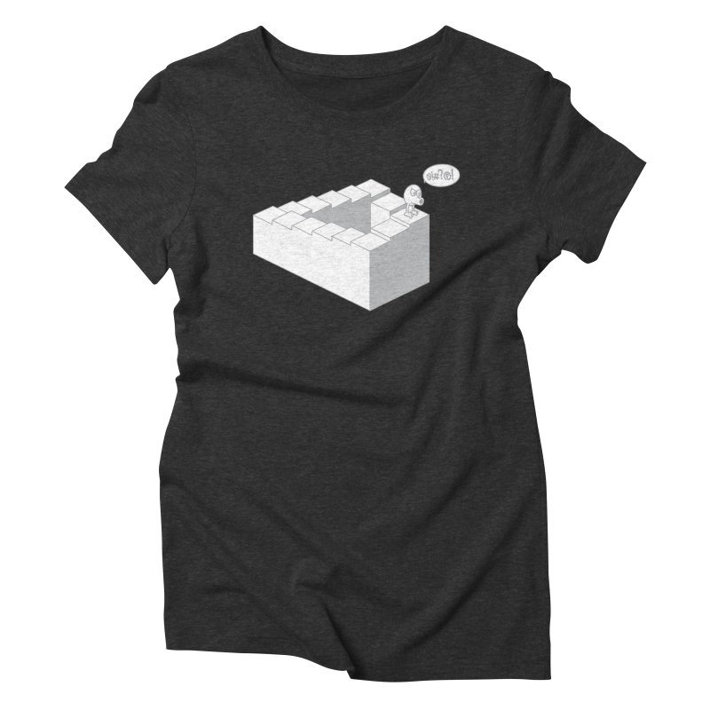 @!#?@! (Qbert) Women's Triblend T-Shirt by 2pstart's Artist Shop