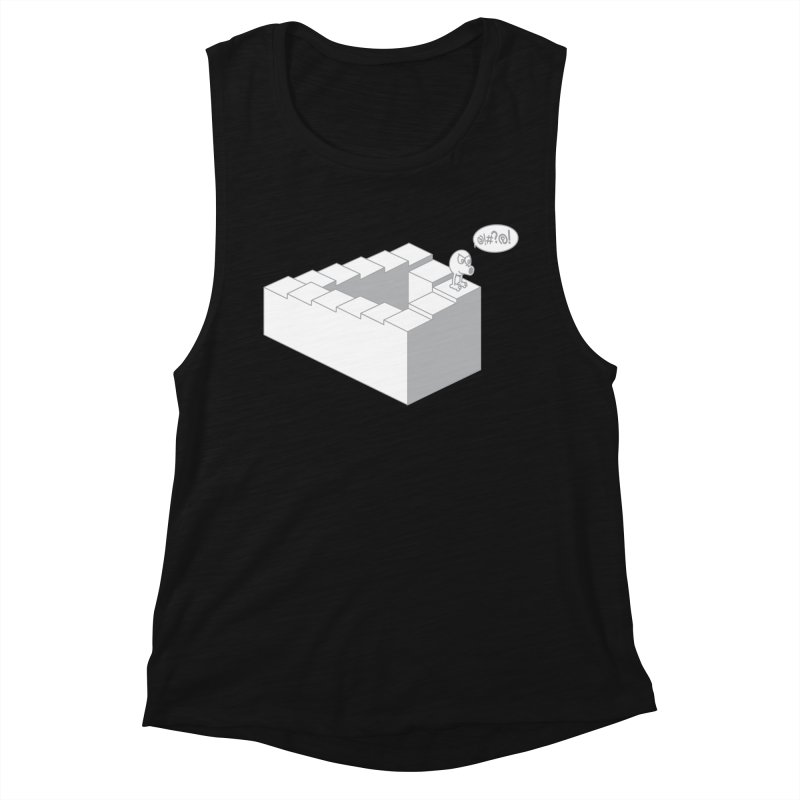 @!#?@! (Qbert) Women's Muscle Tank by 2pstart's Artist Shop