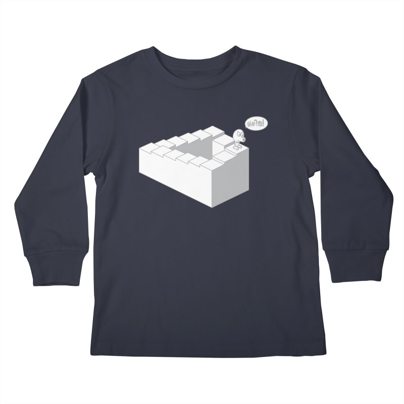 @!#?@! (Qbert) Kids Longsleeve T-Shirt by 2pstart's Artist Shop