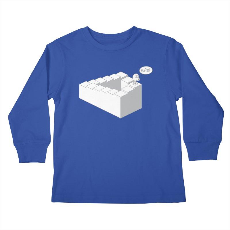@!#?@! (Qbert) Kids Longsleeve T-Shirt by 2pstart's Artist Shop