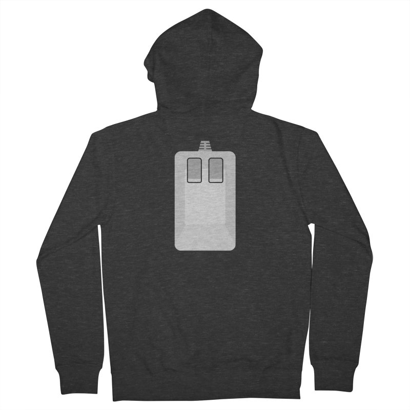 Amiga Tank Mouse Men's French Terry Zip-Up Hoody by 2pxSolidBlack