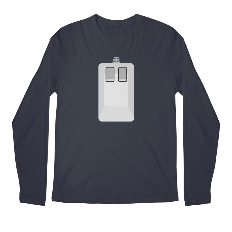 Amiga Tank Mouse Men's Regular Longsleeve T-Shirt by 2pxSolidBlack