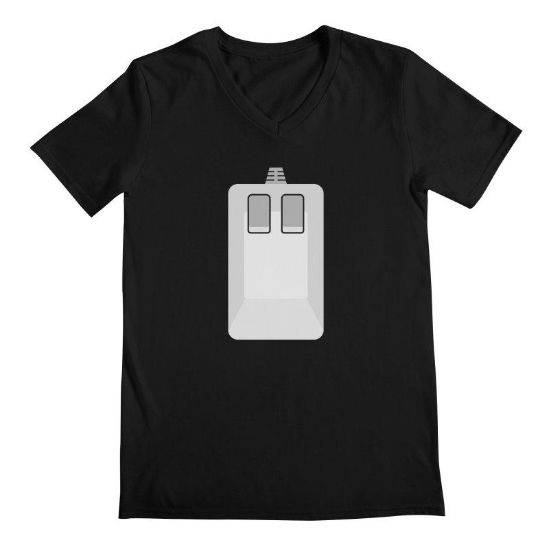 Amiga Tank Mouse Men's V-Neck by 2pxSolidBlack