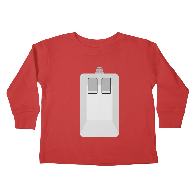 Amiga Tank Mouse Kids Toddler Longsleeve T-Shirt by 2pxSolidBlack