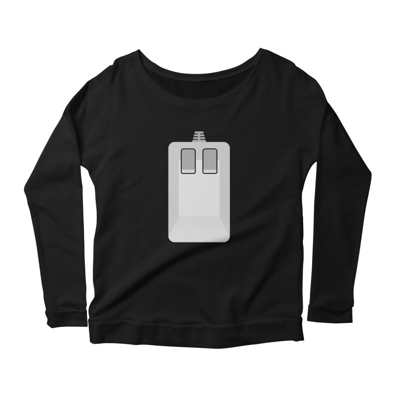 Amiga Tank Mouse Women's Scoop Neck Longsleeve T-Shirt by 2pxSolidBlack