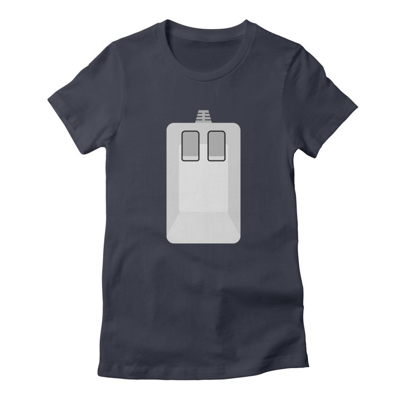 Amiga Tank Mouse Women's Fitted T-Shirt by 2pxSolidBlack