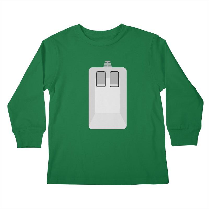 Amiga Tank Mouse Kids Longsleeve T-Shirt by 2pxSolidBlack
