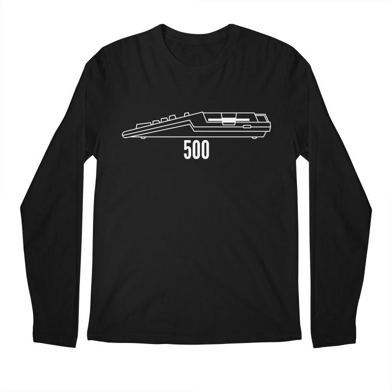 Commodore Amiga 500 Men's Regular Longsleeve T-Shirt by 2pxSolidBlack