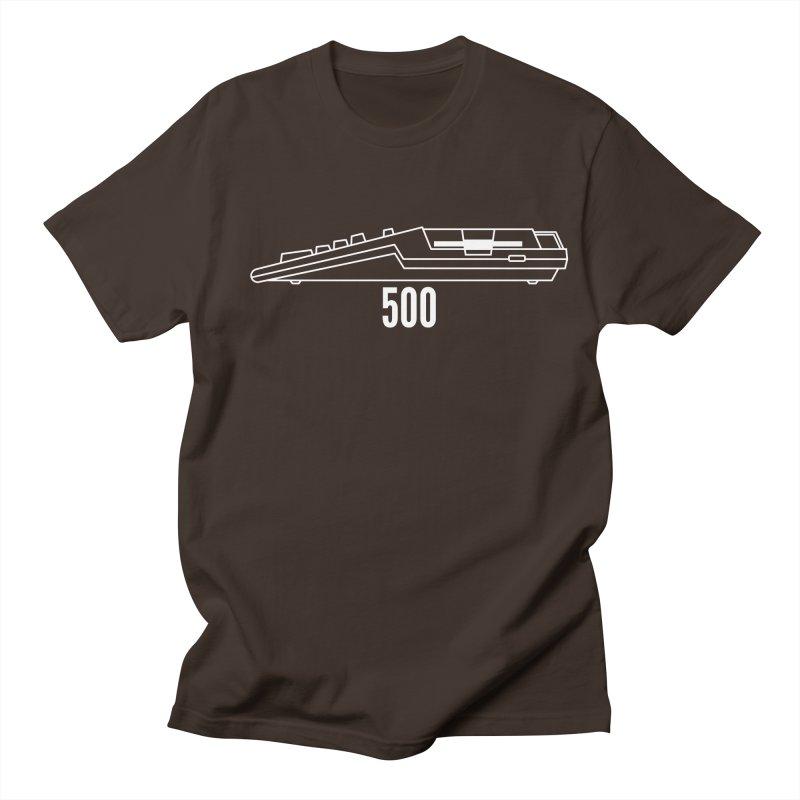 Commodore Amiga 500 Men's T-Shirt by 2pxSolidBlack